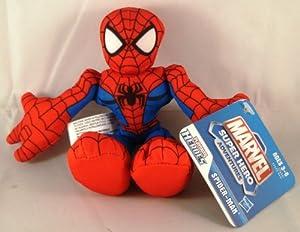 Marvel Super Hero Adventures Playskool Heroes Spider-Man Plush Toy