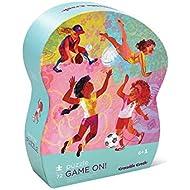 Crocodile Creek Girls Sports Game On! 72 piece Junior Jigsaw Puzzle 14
