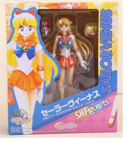15cm 6inches Japanese Anime Sailor Moon Mercury Mars Venus PVC Action Figure Toy (Sailor Venus)