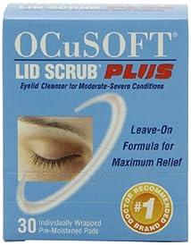 OCuSOFT Lid Scrub Plus Pre-Moistened Pads 30 Count