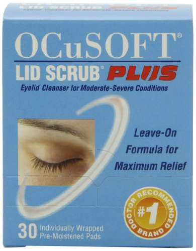 OCuSOFT Lid Scrub Plus, Pre-Moistened Pads, 30 Count (Lid Scrub compare prices)