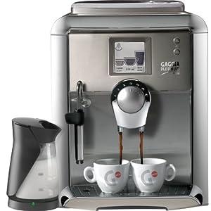 Gaggia 90951 Platinum Vision Automatic Espresso Machine with Milk Island, Platinum