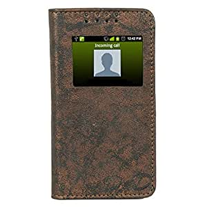 D.rD Flip Cover with screen Display Cut Outs designed for Samsung Z1