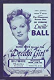 "Lucille Ball ""DREAM GIRL"" Elmer Rice / Biltmore Theatre, Los Angeles 1948 Flyer"