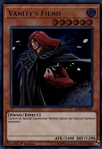 2017 Yu-Gi-Oh Battles of Legend Lights Revenge 1st Edition #BLLREN047 Vanitys Fiend UR