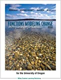 img - for Functions Modeling Change: A Preparation for Calculus (University of Oregon custom edition) book / textbook / text book