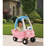 [HSB Value+ Bundle] Little Tikes Cozy Coupe Girl 30th Anniversary Edition 614798 with MF® Chenille® Cleaning Glove