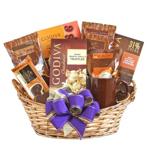 California Delicious Godiva Chocolate Gift Basket