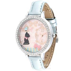 ufengke® de dibujos animados de moda los niños 3d muñeca reloj de pulsera-pájaro del patrón del gato de la torre en el dial marca Ufingo