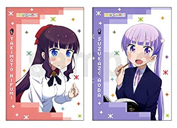NEWGAME! ミニノートセット B6 ノート 2冊セット 青葉 ひふみ