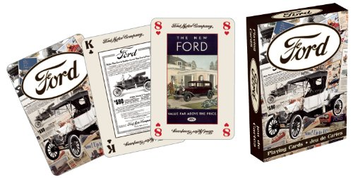 Ford Heritage Playing Card Game