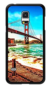 "Humor Gang Bridge Road Scenery Printed Designer Mobile Back Cover For ""Samsung Galaxy S5"" (3D, Glossy, Premium Quality Snap On Case)"