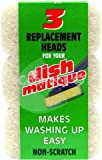 Dishmatique Dishmatique replacement heads (Sponges) White non scratch ideal for non-stick saucepansNon Scratch Replacement Heads - Consumable