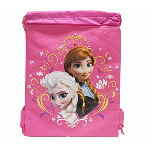Disney Frozen Drawstring Backpack - Pink - 1