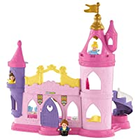 Fisher-Price Little People Disney Princess Musical Dancing Palace, Standard Packaging