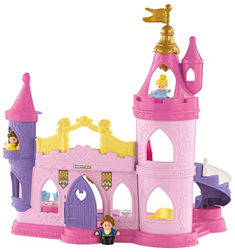 Fisher-Price Little People Disney Princess Musical Dancing Palace (Beauty And The Beast Fisher Price compare prices)
