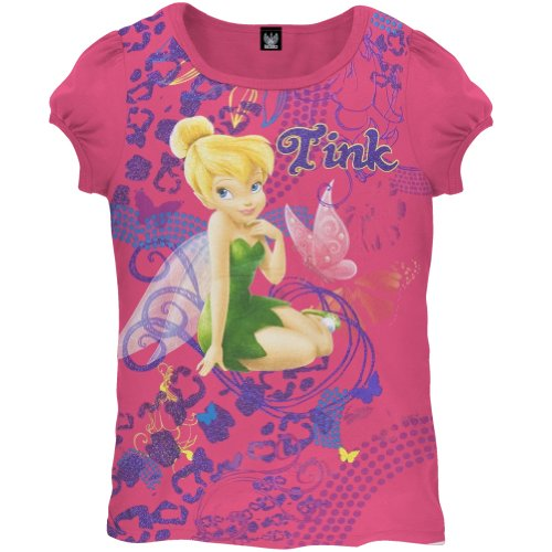 Tinkerbell - Abstract Tink Girls T-Shirt