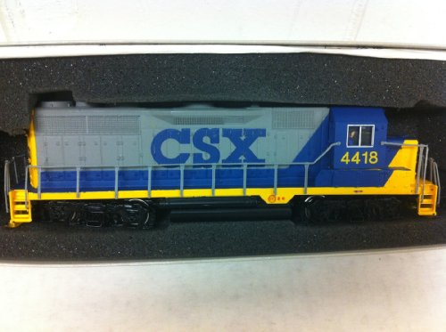 Bachmann Plus CSX #4418 EMD GP35 Diesel Locomotive HO Scale Train Car #11515