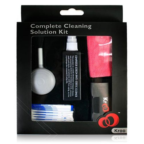 Kroo Complete Lcd Cleaning Solution Kit