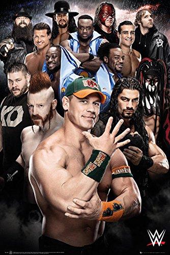 Wrestling-Poster-WWE-Superstars 2016+ Poster a sorpresa