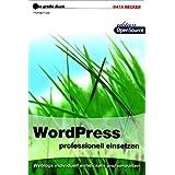 """Das gro�e Buch Wordpress professionell einsetzenvon """"Thomas Fr�tel"""""""