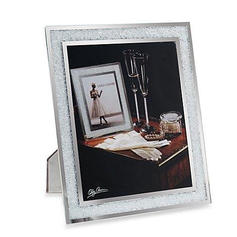 Oleg Cassini Crystal Diamond Picture Frame, 8x10-Inch (Crystal Oleg Cassini compare prices)