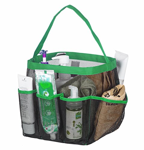 Quick Dry Hanging Toiletry And Bath Organizer With 8 Storage Compartments Shower Tote Shower