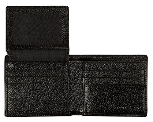 RFID Blocking Stylish Genuine Pebbled Leather Wallet for Men, RFID Wallet (25 Steam Wallet Card compare prices)
