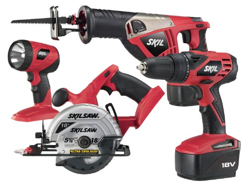 SKIL 2888-10 18-Volt 4-Tool Combo Kit (Skil Power Tools compare prices)