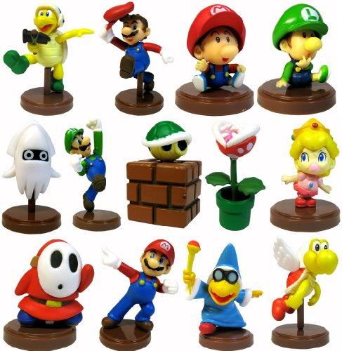 Furuta Wii Nintendo Super Mario Baby Luigi Peach Koopa Shell Shy Guy 13 Figures