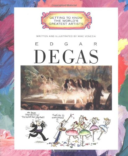 Edgar Degas (Getting To Know The World'S Greatest Artists) front-731374