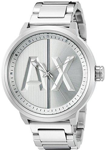 Armani-Exchange-Mens-AX1364-Analog-Display-Analog-Quartz-Silver-Watch