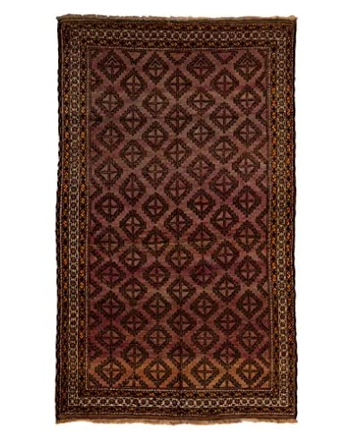 Solo Rugs One-of-a-Kind Tribal Rug, Purple, 4' 5 x 7' 5