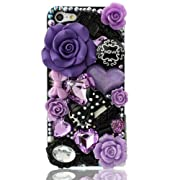 NOVA Case Glamour Bling Crystal iPhone Case iPhone 5 Purple Fairy Tale