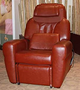 HT-1650 Massage Chair by Human Touch- Chocolate Premium Leather