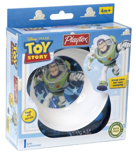 Playtex Toy Story Bowl, Designs May Vary (Discontinued by Manufacturer) - 1