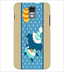 PrintDhaba Cartoon D-5807 Back Case Cover for SAMSUNG GALAXY S5 (Multi-Coloured)