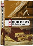 Clif Bar Builder's Protein Bars, Chocolate Peanut Butter, 12 ct
