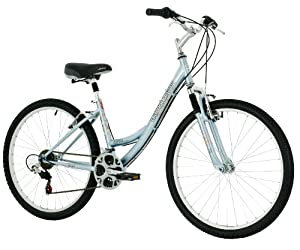 Diamondback Serene Citi Classic Women's Sport Comfort Bike (26-Inch Wheels), Blue, Medium/17-Inch