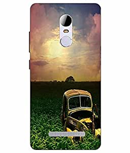 Case Cover Nature Printed Green Soft Back Cover For RedMI Note 3