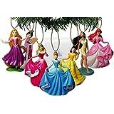 Amazon.com: Disney's Frozen Holiday Ornament Set- (6) PVC ...