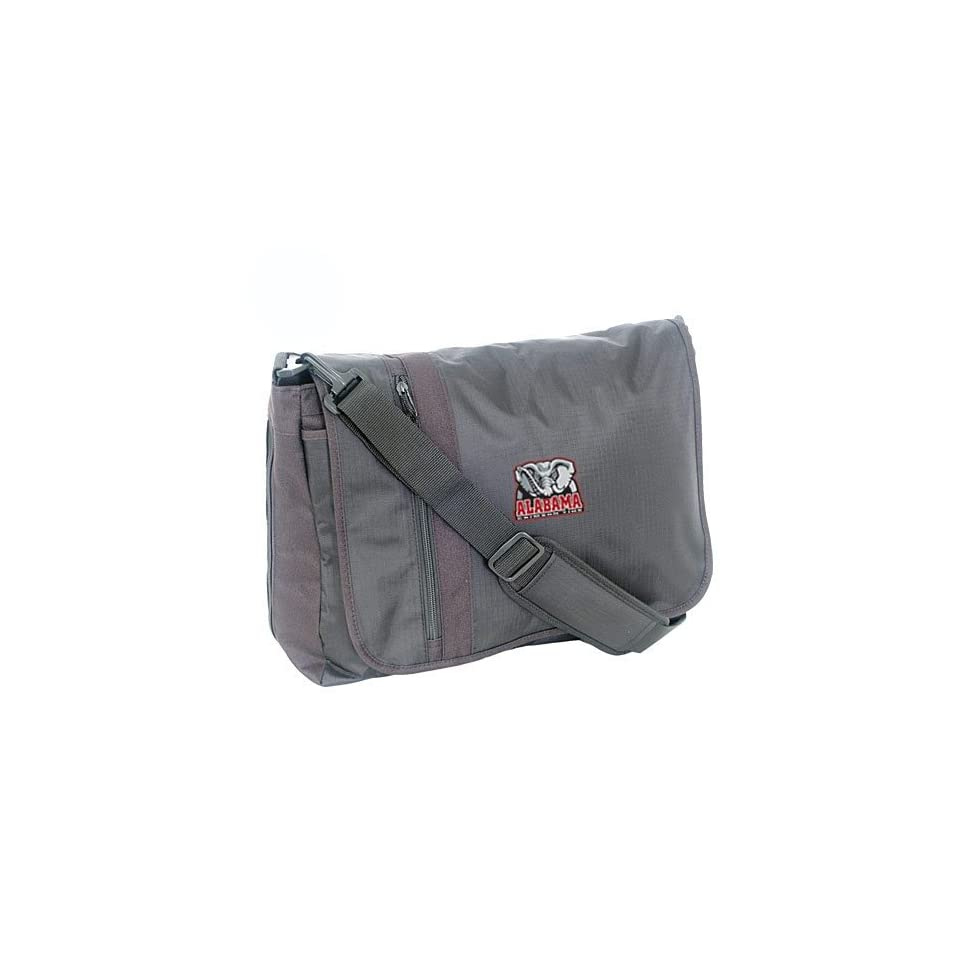 Mercury Luggage Alabama Crimson Tide Black Messenger Bag