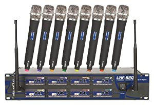 VocoPro UHF-8800-III Wireless Microphone System