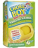 Chore Boy Soap Filled Scrubbers - 2 ct