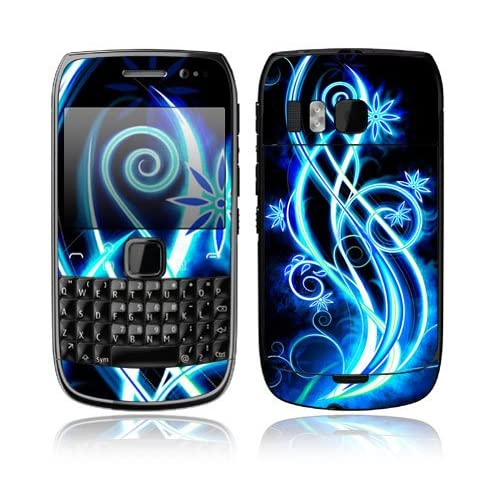 Neon Flower Decorative Skin Cover Decal Sticker for Nokia