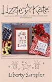 img - for Liberty Sampler (105) Cross Stitch Chart and Charms book / textbook / text book