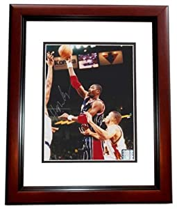 Hakeem Olajuwon Autographed Hand Signed Houston Rockets 8x10 Photo MAHOGANY CUSTOM... by Real Deal Memorabilia