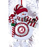 University of Alabama Jolly Christmas Snowman Ornament