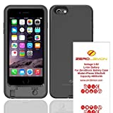 iPhone 6/6s Battery Case, ZeroLemon 4600mAh ZeroShock Double Layer Extended Battery Charging Case for iPhone 6 4.7
