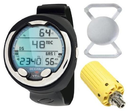 Black Friday Sale Price Ends On December 3rd New Oceanic Vt4 1 Scuba Diving Computer Complete With Hi Visibility Yellow Transmitter Usb Download Cable Free Lens Protector Valued At 12 95 For
